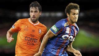 A-League.  Brisbane Roar v Newcastle Jets