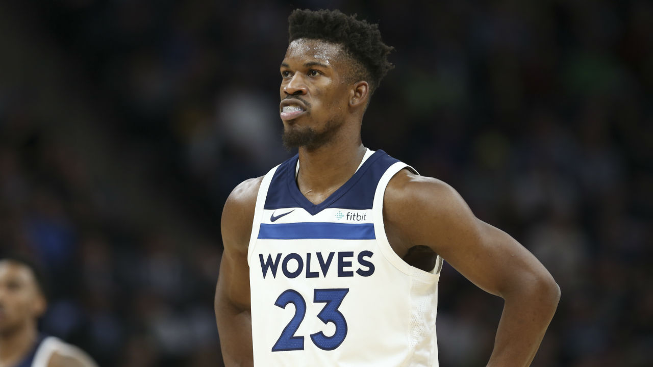 Jimmy Butler, Andrew Wiggins throw shade on social media