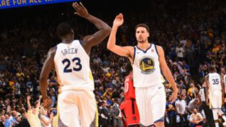 #Klay Thompson Draymond Green