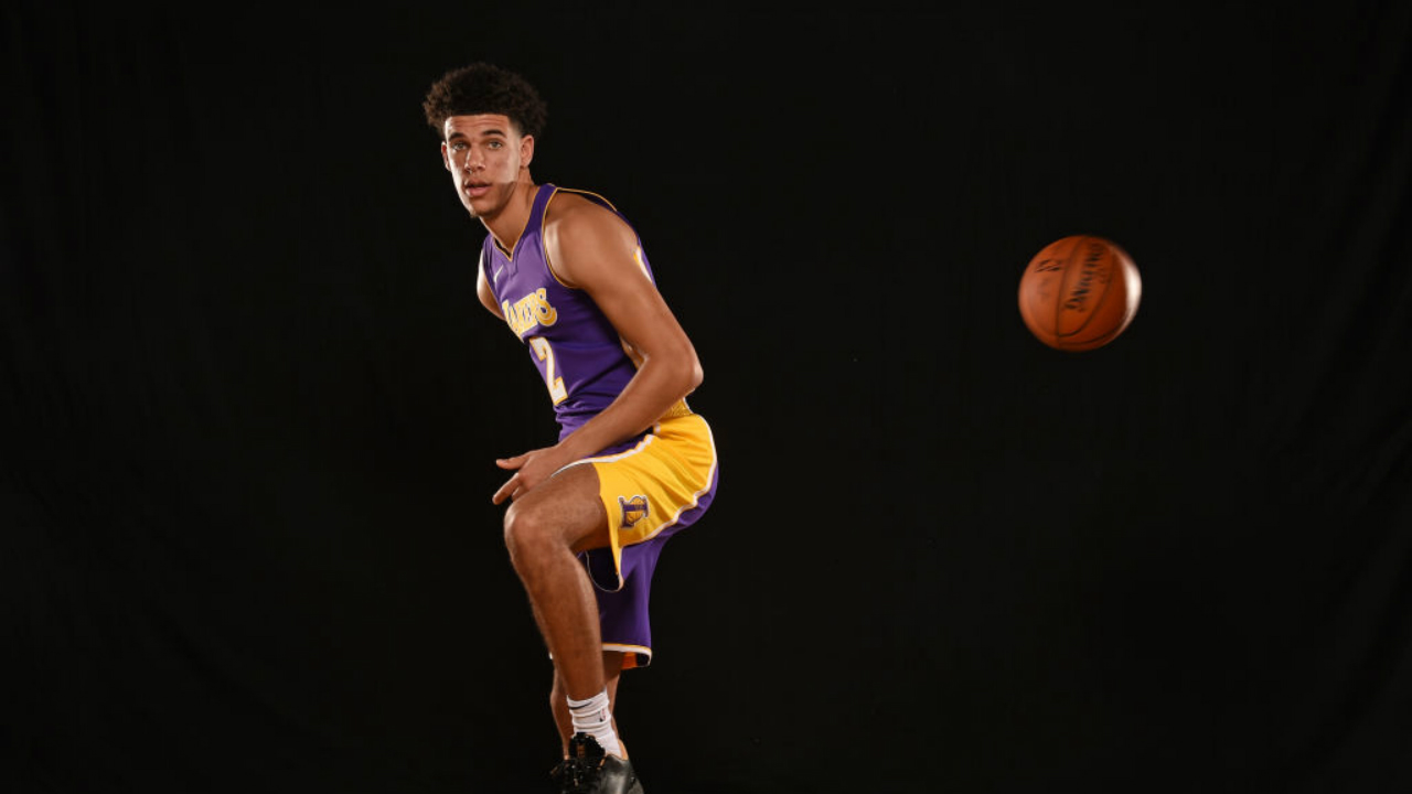 Lonzo Ball 2017 NBA rookie photo shoot b7e180271