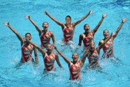 Jarryd Hayne Olympics - Synchronised Swimming