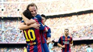 Ivan Rakitic; Lionel Messi