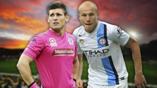 A-League.  Central Coast Mariners v Melbourne City