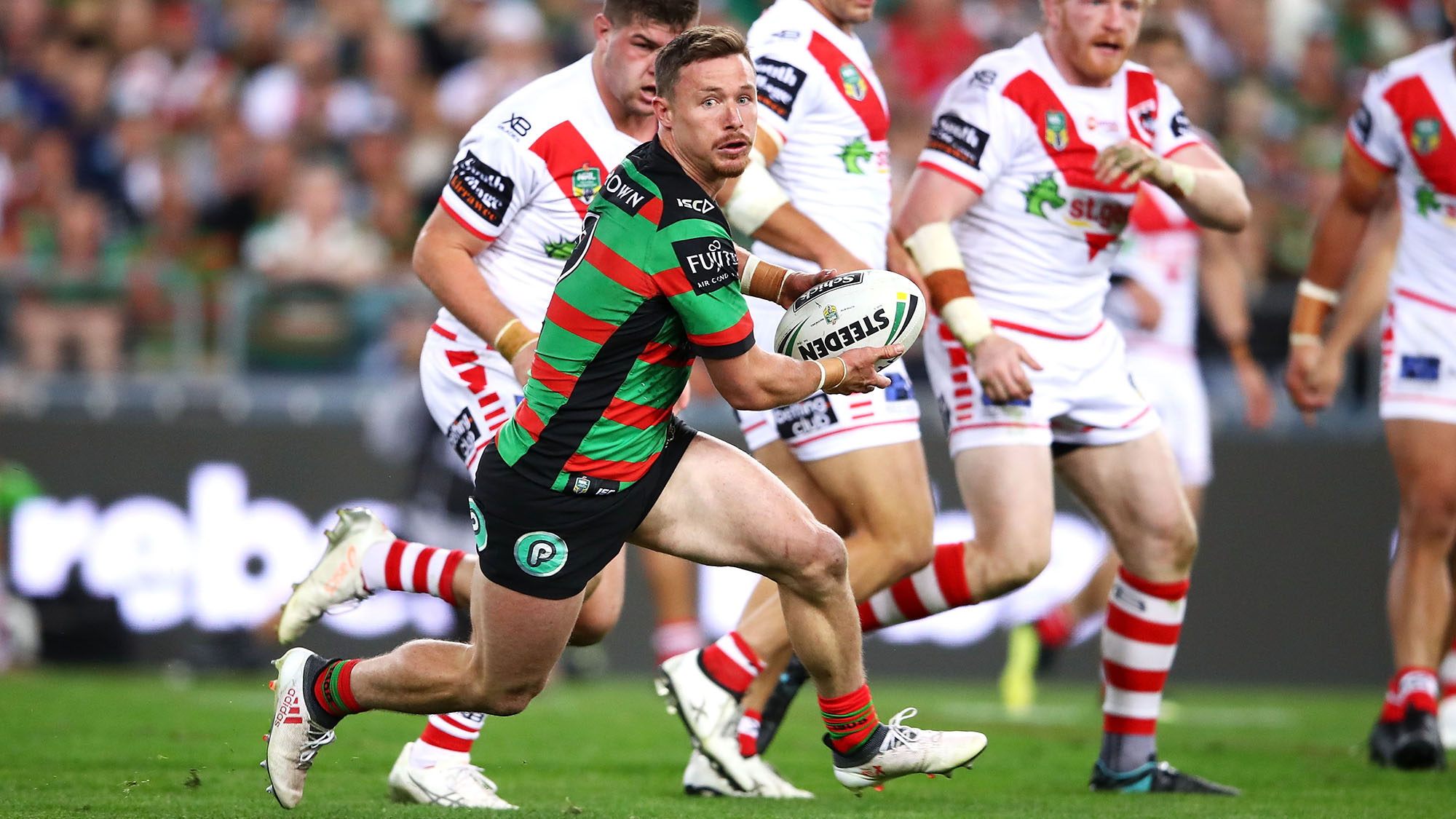 South Sydney Rabbitohs star Damien Cook being hunted by three rival clubs, reports