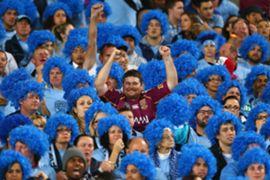 Blue wigs
