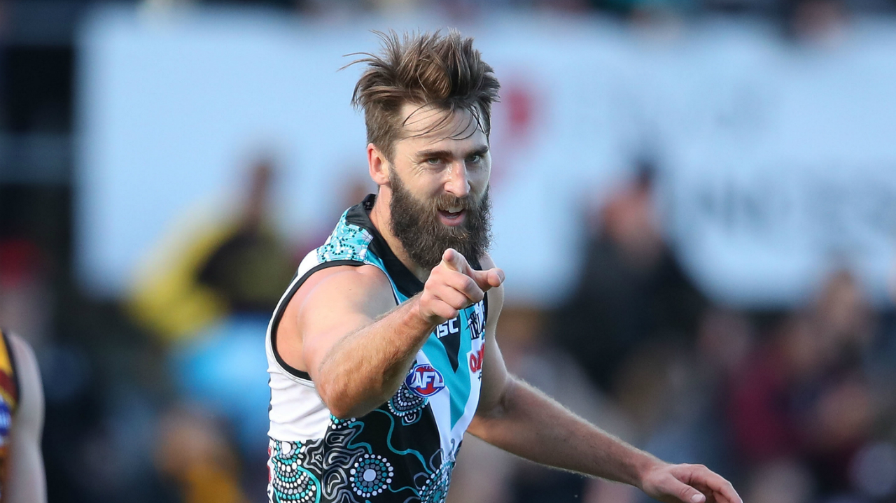 Port Adelaide confirm six re-signings, including club veteran Justin Westhoff