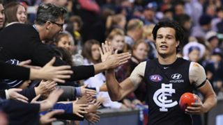 #Carlton fans crowd supporters jack silvagni