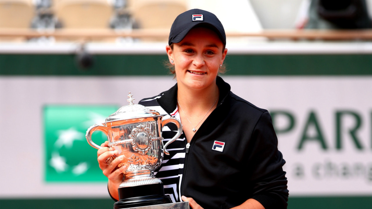 Ash Barty grilled by former French Open champion Ion Tiriac