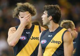 Richmond Tigers Tyrone Vickery Alex Rance