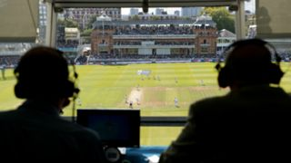 #Cricket commentary