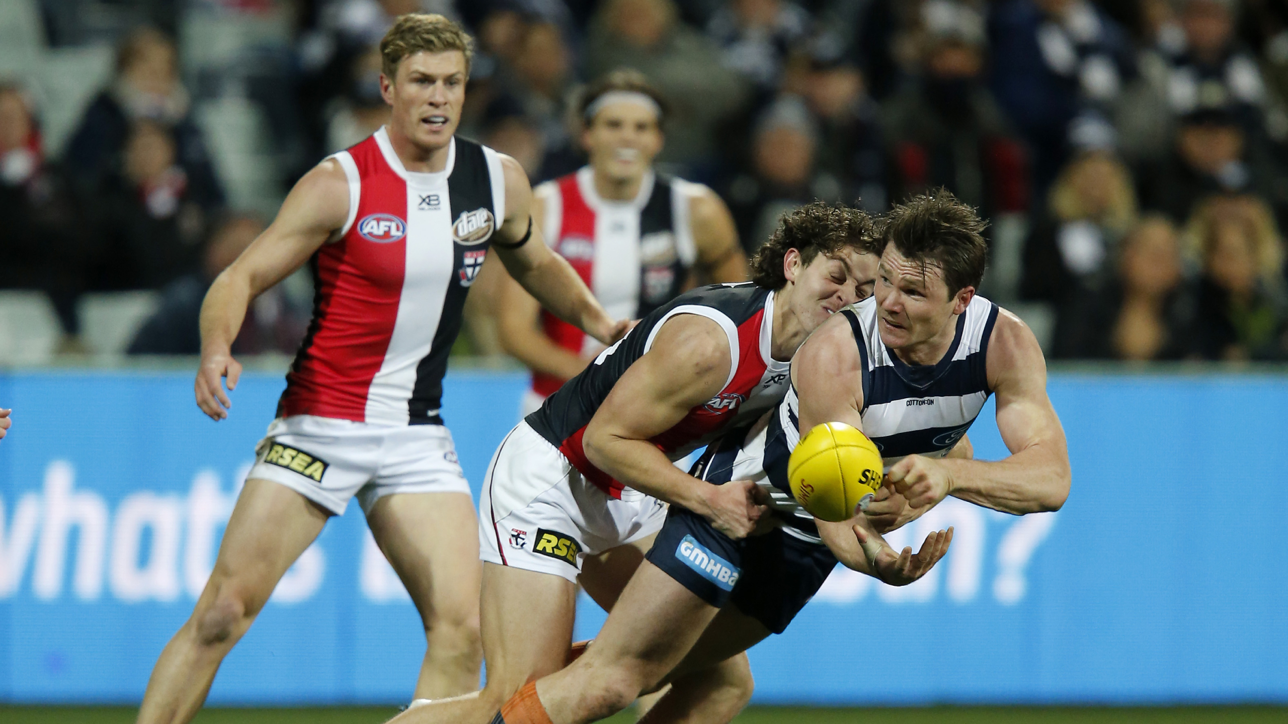 The AFL wants to remove tackling as a 'feature of the game'