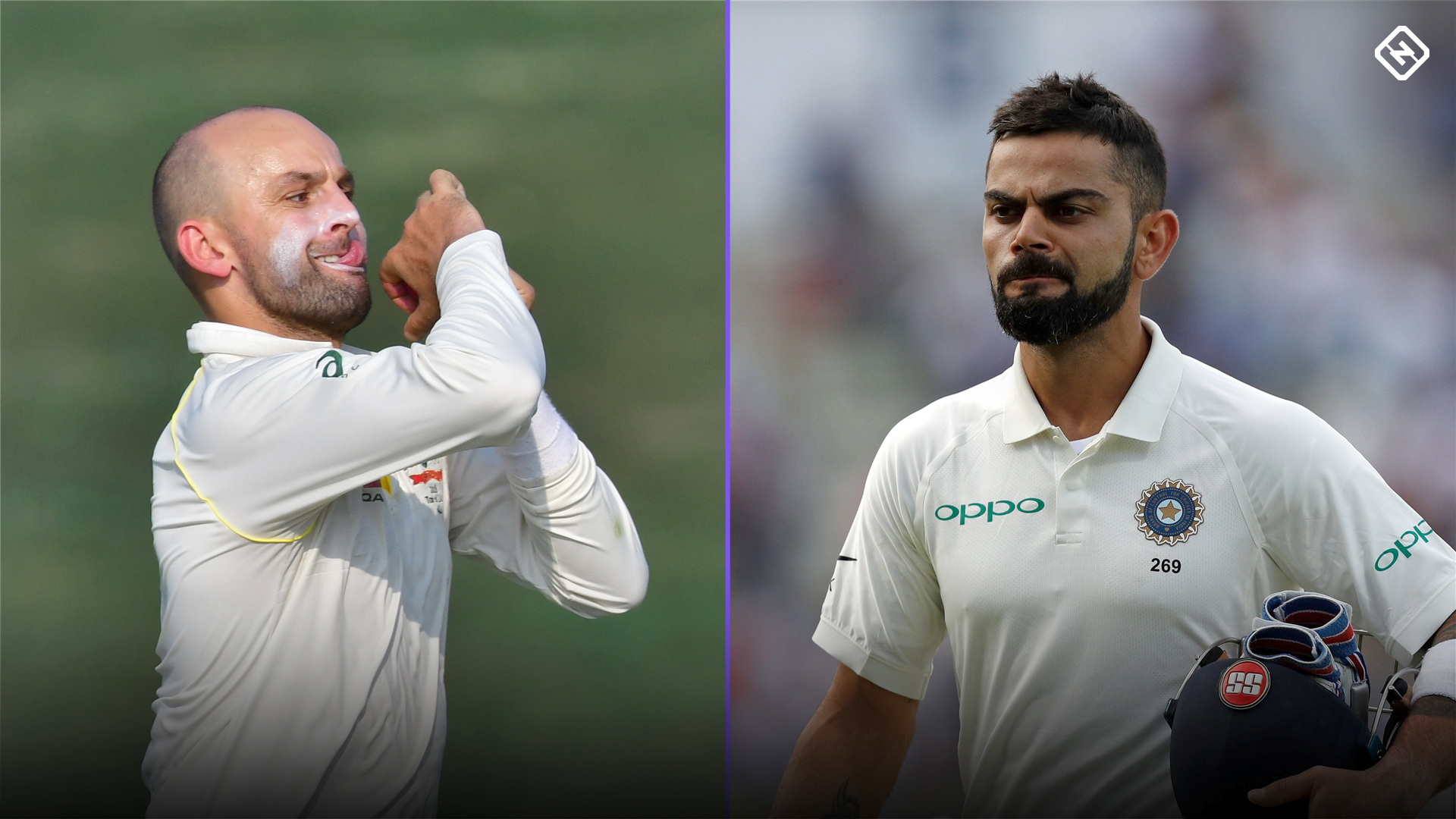 Nathan Lyon breaks record for most Test dismissals of Virat Kohli