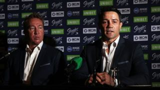 Trent Robinson and Cooper Cronk