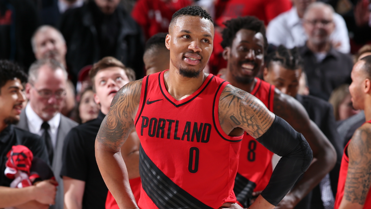 a3df9382dd01 Damian Lillard on beef with Russell Westbrook   We literally laughed about  it.