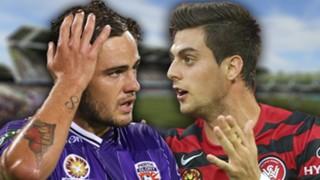 A-League.  Perth Glory v Western Sydney Wanders