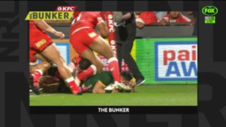 Holmes eight-point try