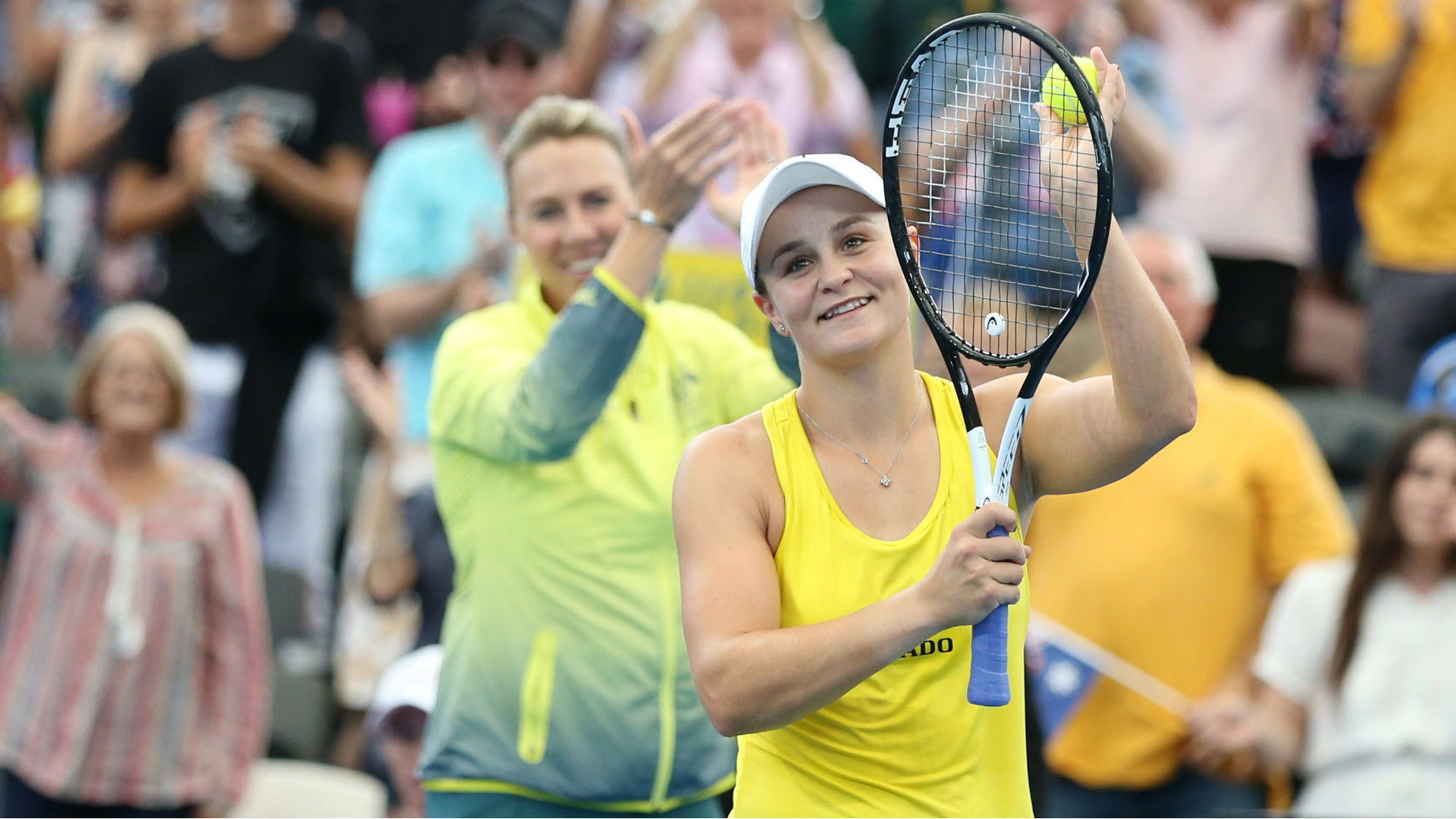 Fed Cup: Australia progress to final after Ash Barty-Sam Stosur doubles victory