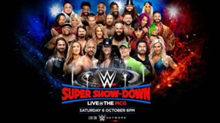 #wwe super show-down