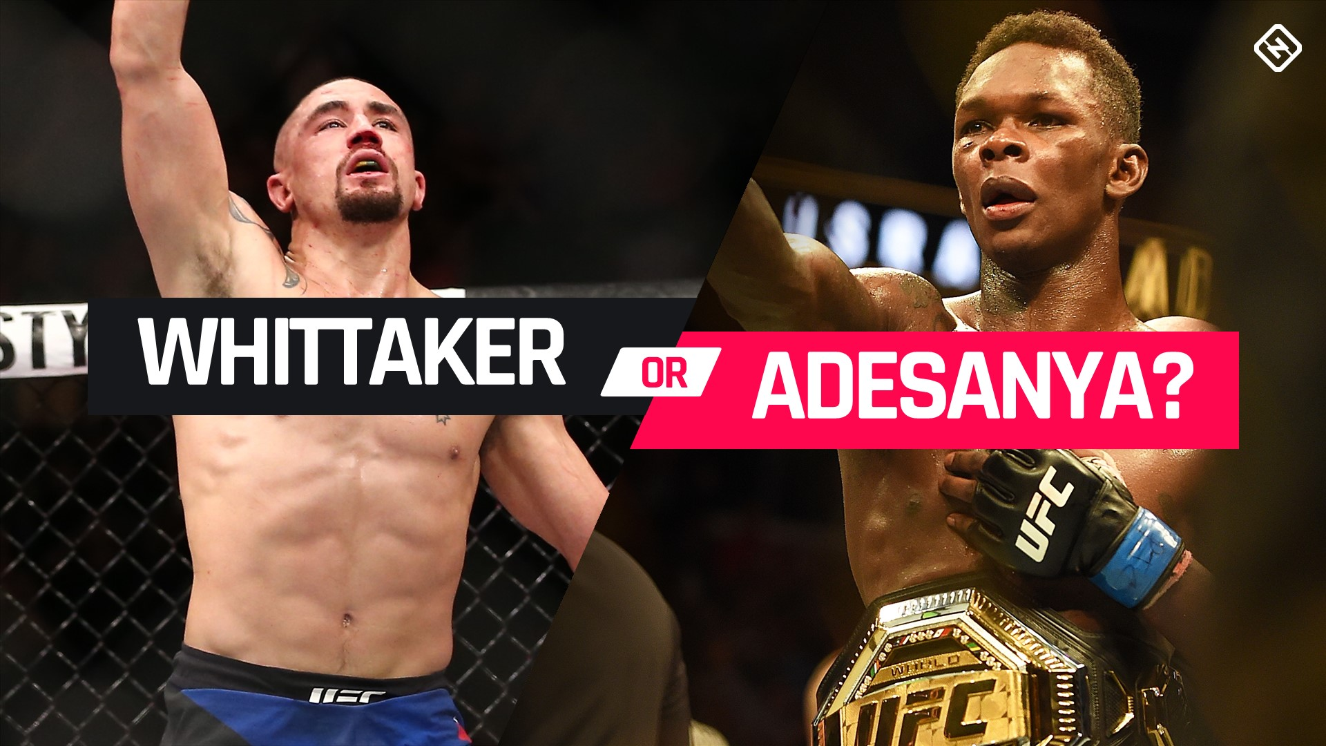 Robert Whittaker Dana White Interested In Jon Jones vs. Israel Adesanya, But First ... Whittaker: Instead of improving the sport (and themselves), everyone in UFC just sh*ts on each other Robert Whittaker Taking Israel Adesanya Fight Seriously Despite Lack of Trash Talk Robert Whittaker: I'm not a nice guy, I just don't want to be a sh-t person Robert Whittaker won't get into trash talk with Israel Adesanya: 'I'm not a part of that little game' Robert Whittaker Blasts UFC Roster: 'They Want To S–t On Each Other!' Former UFC welterweight title challenger Darren Till teases move to middleweight Former UFC welterweight title challenger Darren Till hints at middleweight move Darren Till Hints At Move Up To Middleweight Midnight Mania! Anderson Silva says his son sometimes beats him in sparring Robert Whittaker Feels 'On Top Of The World' Ahead Of UFC 243 Can anyone bump Jones, Nunes from pound-for-pound No. 1 spots? Unfiltered Episode 306: Israel Adesanya, Michael Chiesa and UFC 239 Recap Yorgan De Castro vs. Justin Tafa set for UFC 243 Israel Adesanya says Jon Jones was great when 'there wasn't USADA around,' Jones responds Israel Adesanya slams 'meth head' Robert Whittaker for UFC 243 staredown Several new faces pop up, make moves in the divisional rankings Video: Israel Adesanya on Robert Whittaker: 'He needs Jon Jones or God to help him beat me' After winning lightweight title, Tony Ferguson will 'knockout everybody' at welterweight Israel Adesanya says Robert Whittaker reminded him of a 'meth head' at UFC summer press conference face-off Michael Bisping Believes Robert Whittaker Will Make Israel Adesanya 'Eat His Words' Trash talk? Memes? Robert Whittaker doesn't understand why Israel Adesanya is so upset UFC Half-Year Awards: Best Fight Of 2019 So Far Israel Adesanya: Robert Whittaker title fight 'definitely' in Australia Sherdog's Pound-for-Pound Top 10 Rankings Israel Adesanya predicts record UFC crowd for middleweight title fight with Robert Whittaker Episode 5