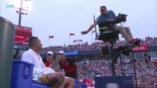 Kyrgios chair umpire