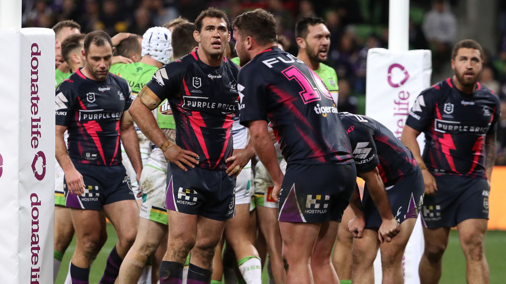 Storm v Raiders: Craig Bellamy blames complacency for second-half collapse