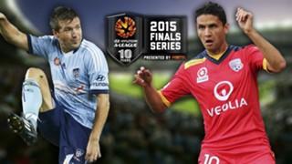 A-League.  Sydney FC v Adelaide United