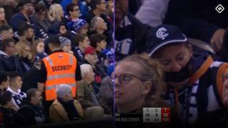 AFL security Carlton Western Bulldogs