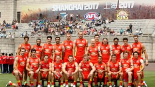 #Gold Coast Suns Shanghai China
