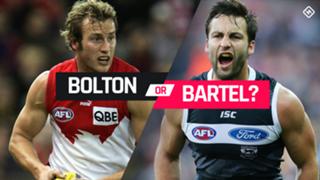 Bolton v Bartel pick 8