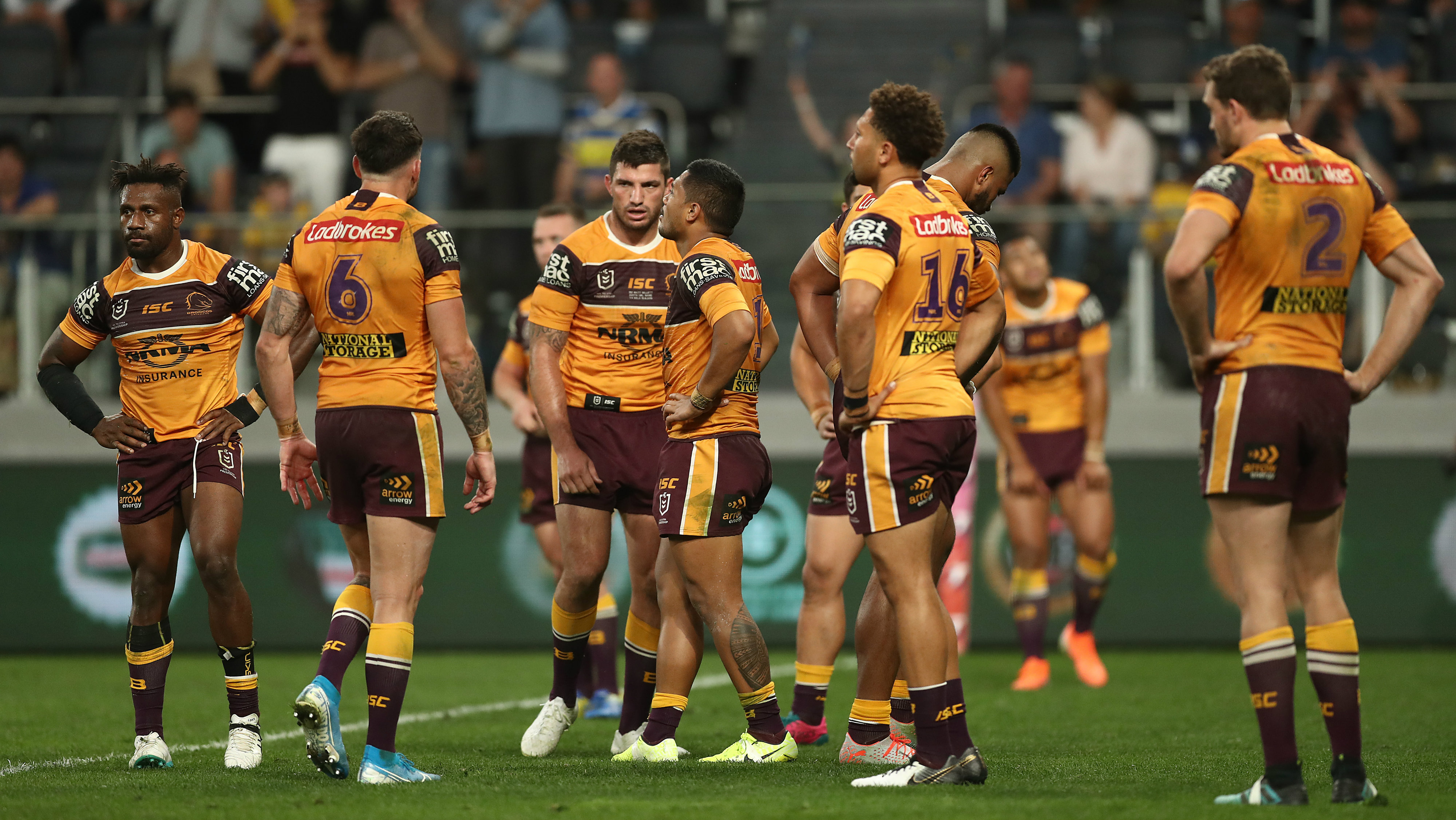 Brisbane Broncos release statement confirming pokies session before 58-0 loss