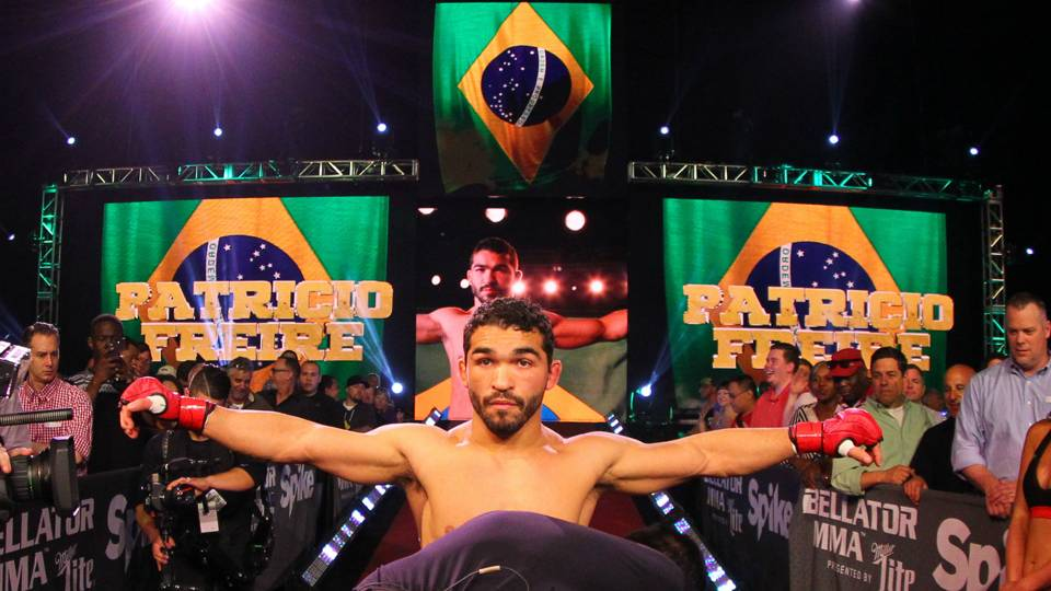 Where does Patricio 'Pitbull' Freire rank among the world's best featherweights?