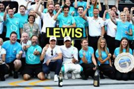 ルイス・ハミルトン、ハンガリーGP決勝、2018