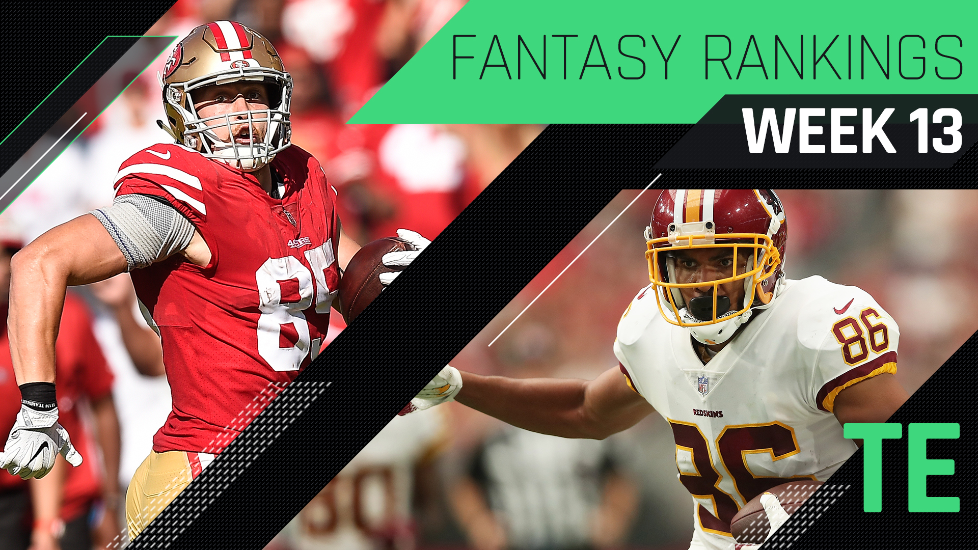 Week 13 Fantasy Rankings: TE | Sporting News