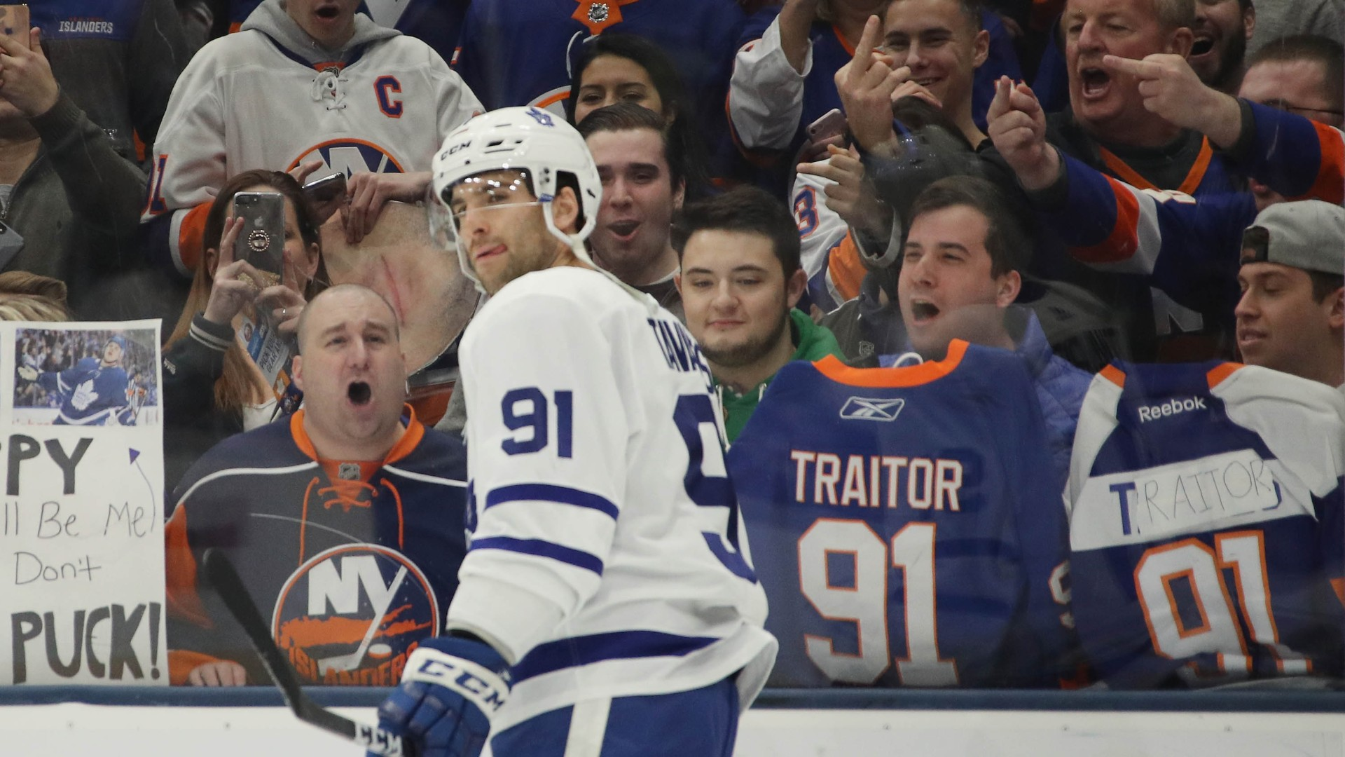 best authentic 47ef9 92a59 Maple Leafs vs. Islanders: Results, highlights from John ...