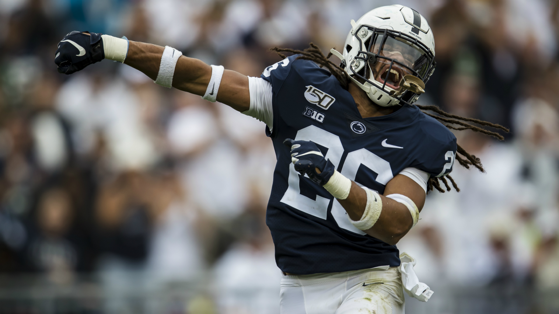 'Chains, tattoos and dreads': Penn State players respond to fan letter with warmup shirt