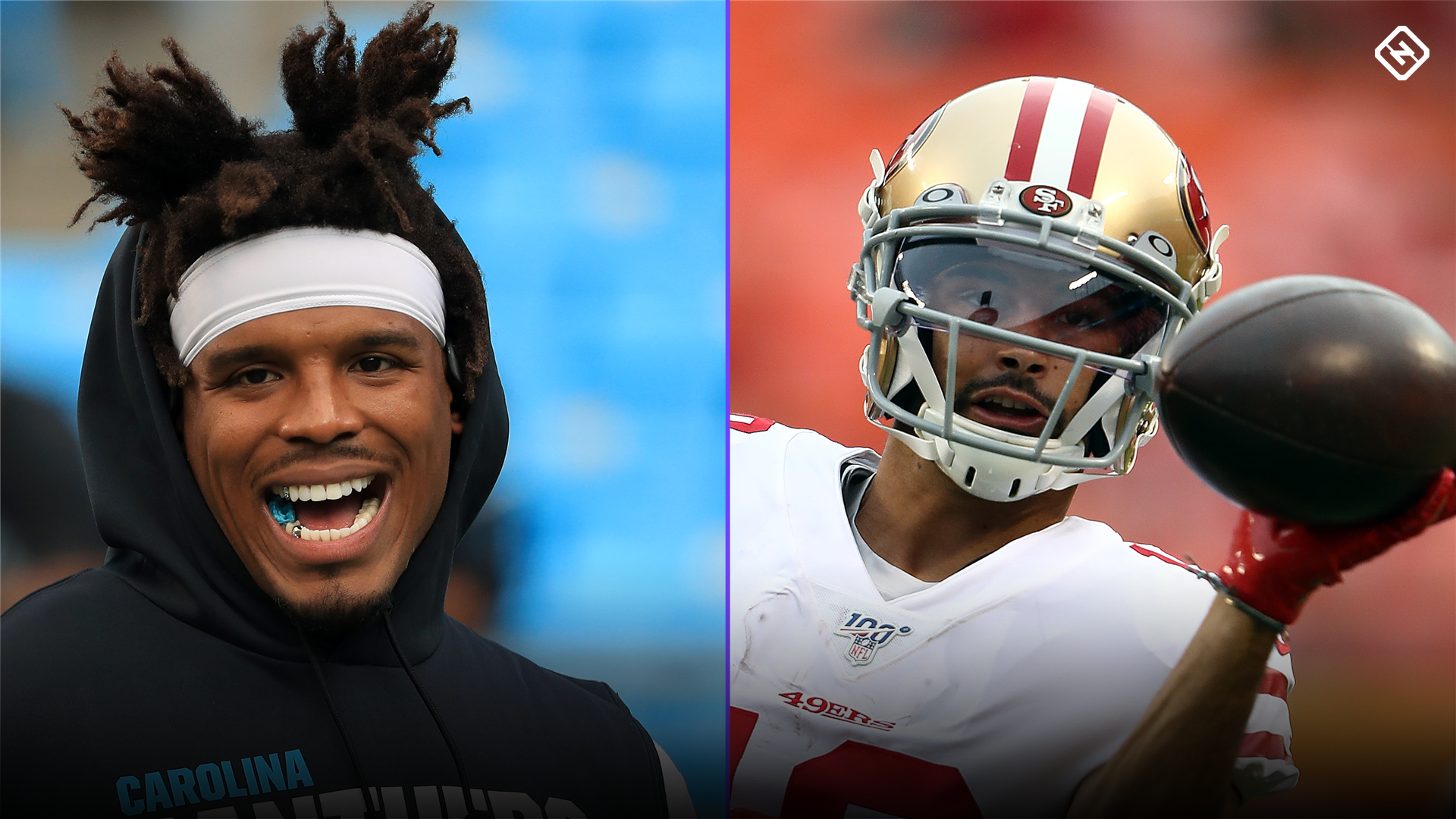 Fantasy Football Waiver Wire Watch List for Week 8: Streaming targets, free agent sleepers include Cam Newton, Dante Pettis