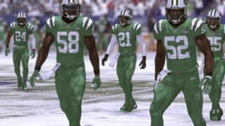 Color Rush New York Jets Madden NFL 17