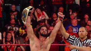 WWE, ロウ, #1331, IC王座戦