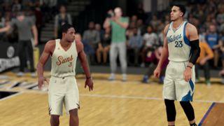 NBA 2K16 Christmas Suns Timberwolves
