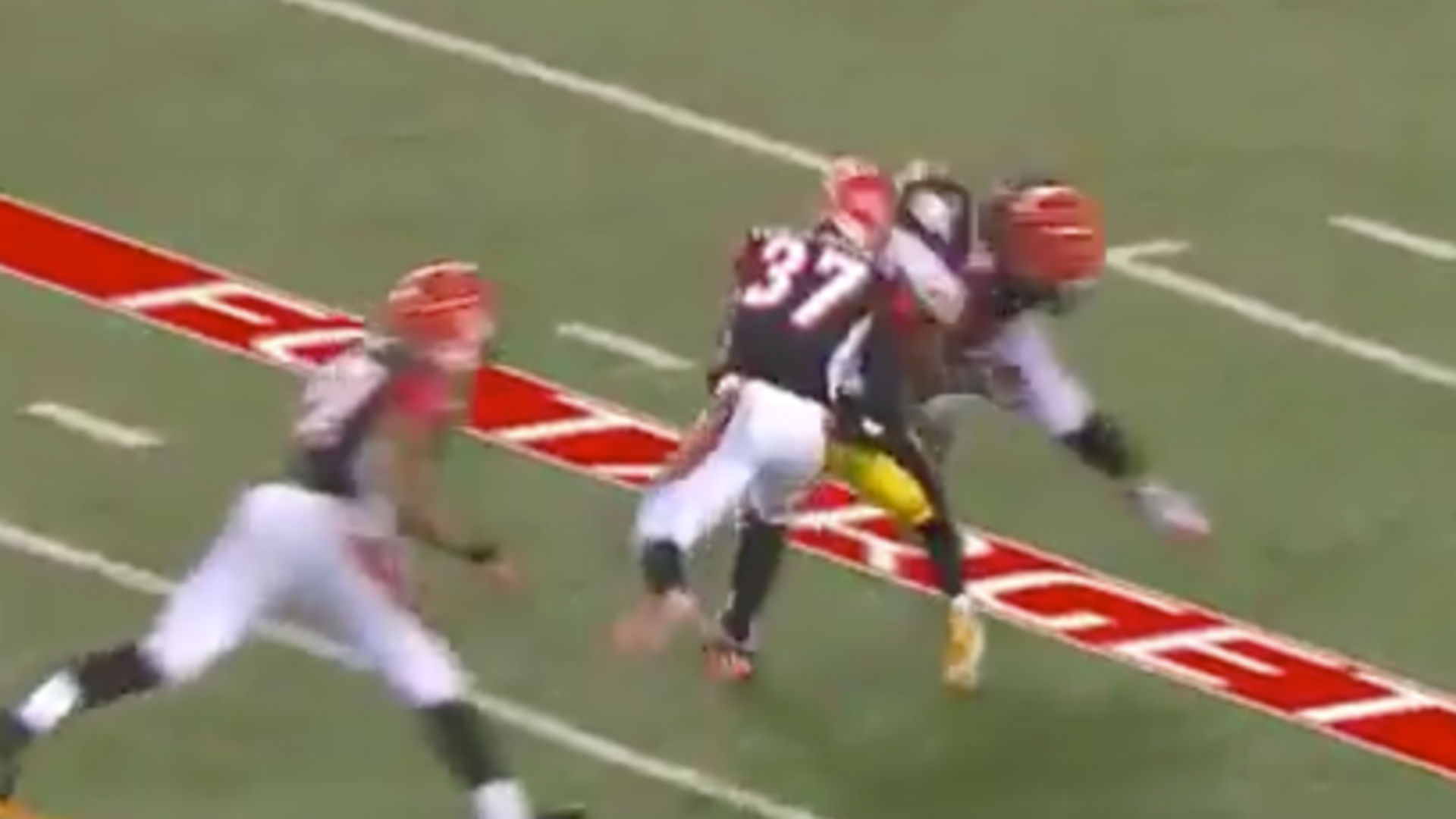 brand new 996b8 eb536 Terrible penalties by Vontaze Burfict, 'Pacman' Jones doom ...