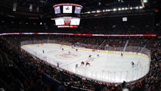 Scotiabank-Saddledome-Flames-Gallery-092717-Getty