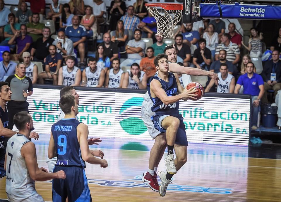 Maximo Fjellerup FIBA Argentina