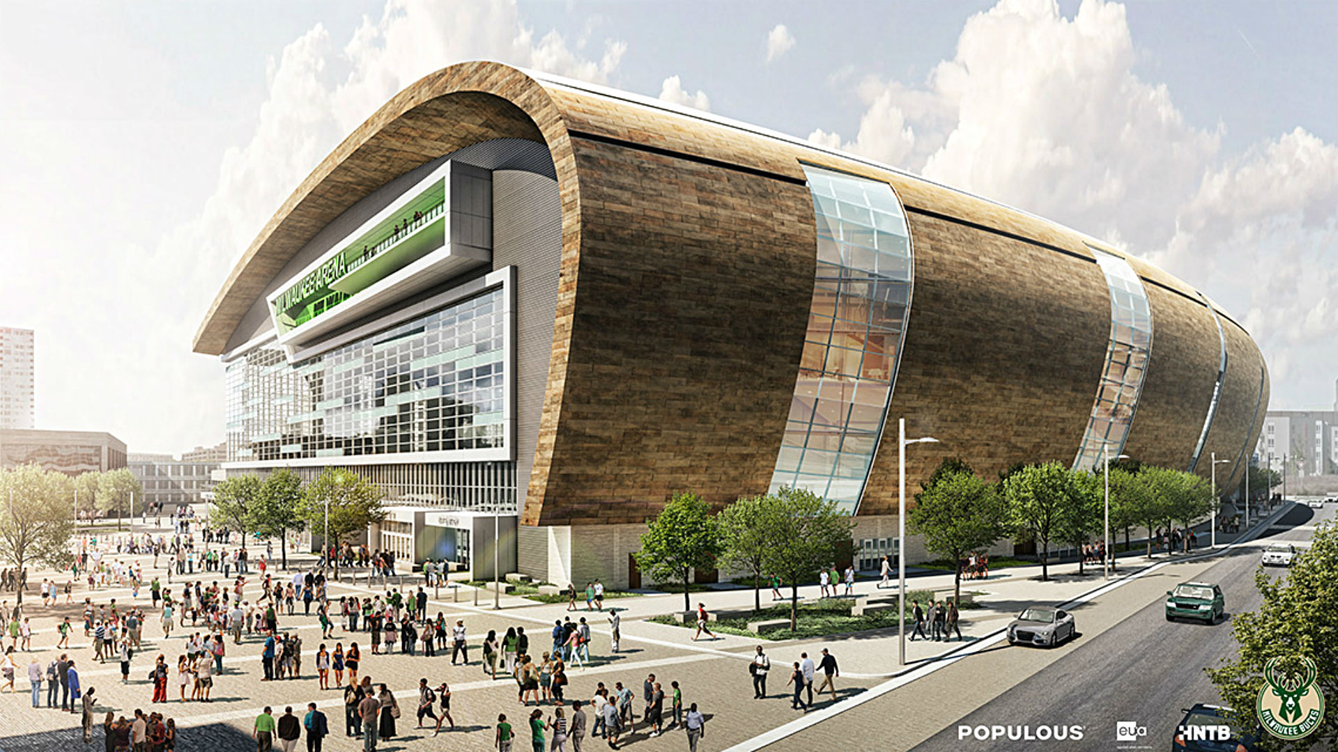 Milwaukee Bucks release fresh images of arena project ...