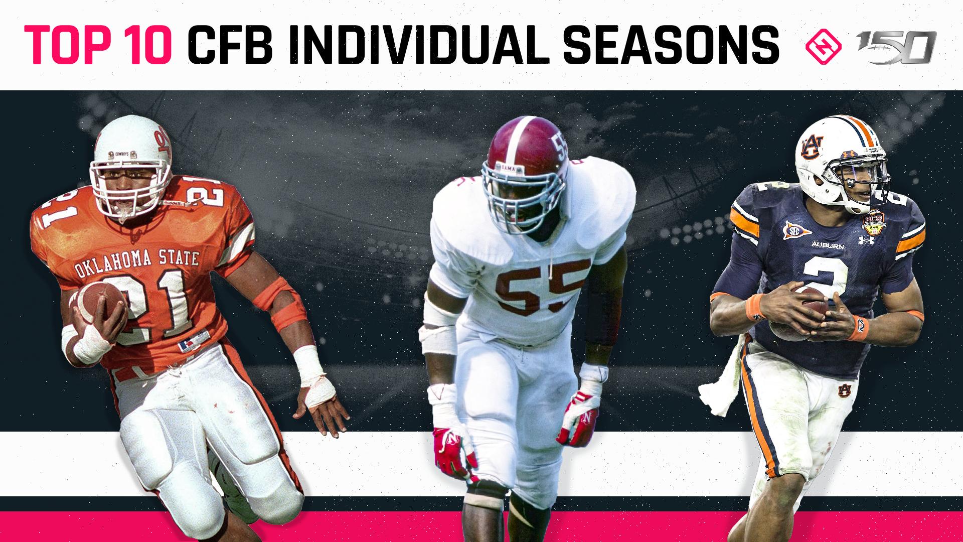 CFB 150: Top 10 individual single-season performances in college football history
