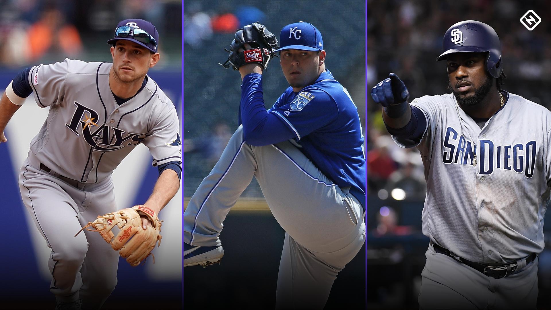 Week 4 Fantasy Baseball Waiver Pickups: Brandon Lowe, Franmil Reyes among players to monitor