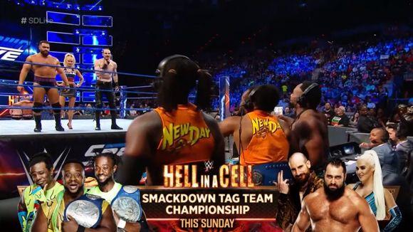 WWE スマックダウン #995 スマックダウン・タッグ王座
