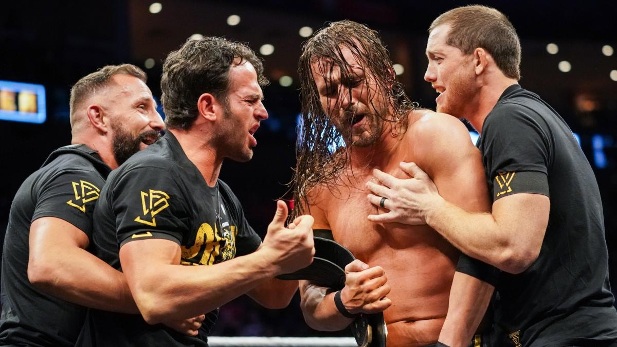 Adam Cole on winning the NXT championship, keeping The Undisputed Era together