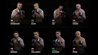 EA Sports UFC 2 Featherweights