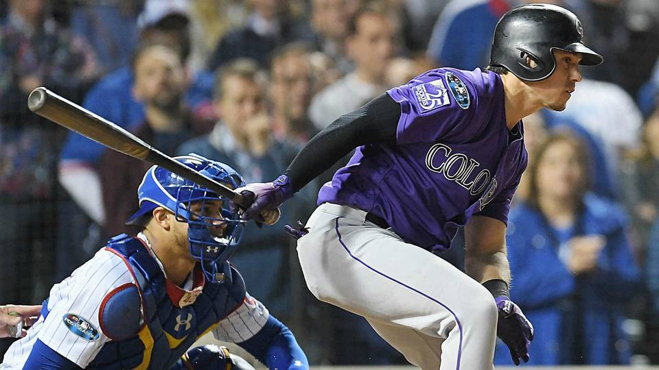 Rockies vs. Cubs results: Rockies score in 13th, oust Cubs in NL wild-card game