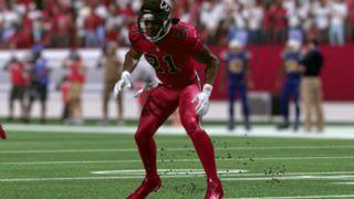Color Rush Atlanta Falcons Madden NFL 17